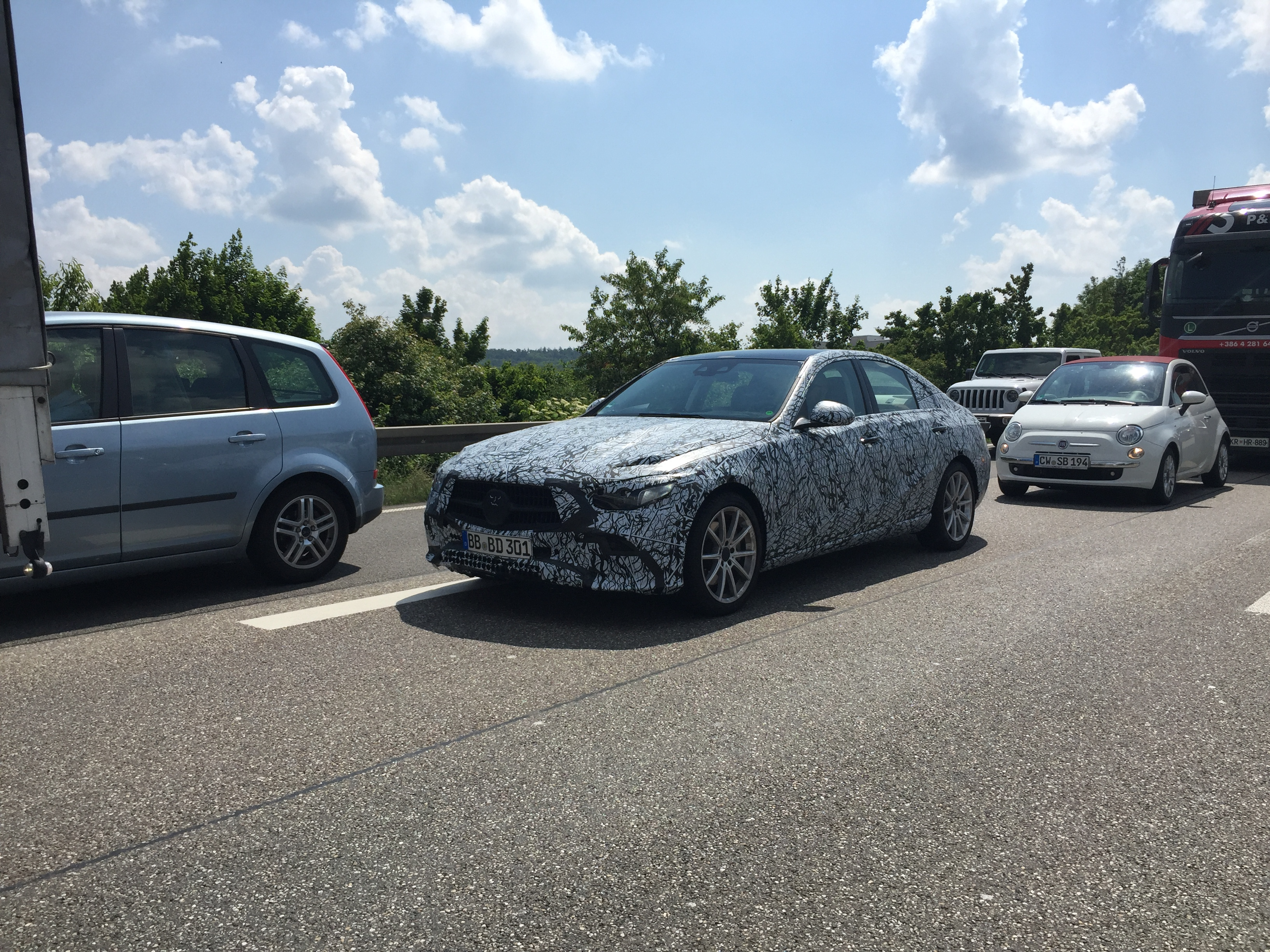2021 Mercedes-Benz Clase C (W206) 7