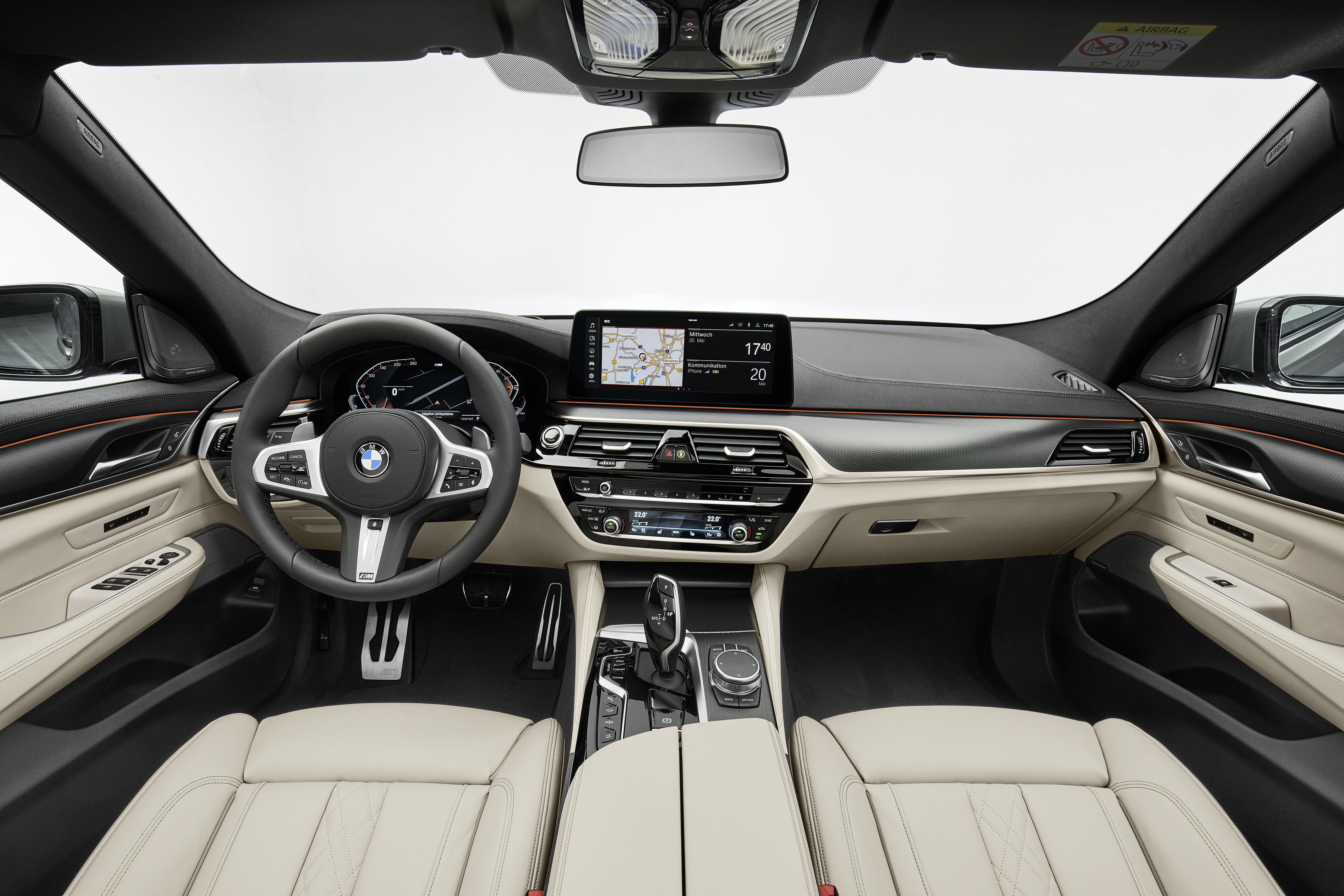 BMW 6 GT Interieur