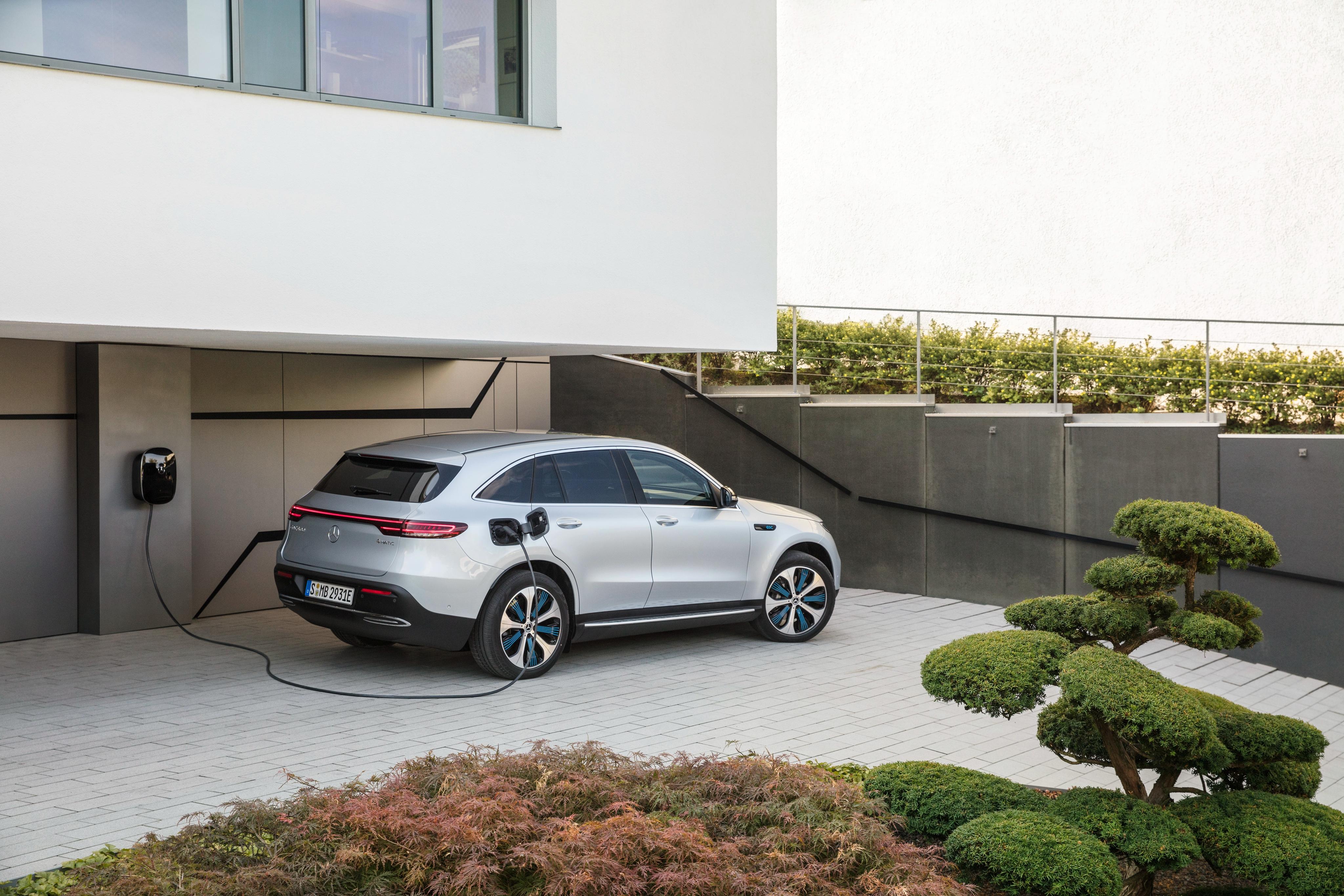 Elektrische Mercedes