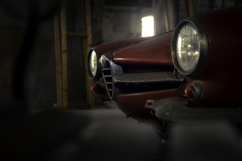 Alfa Romeo Giulia Sprint Speciale Barnfind