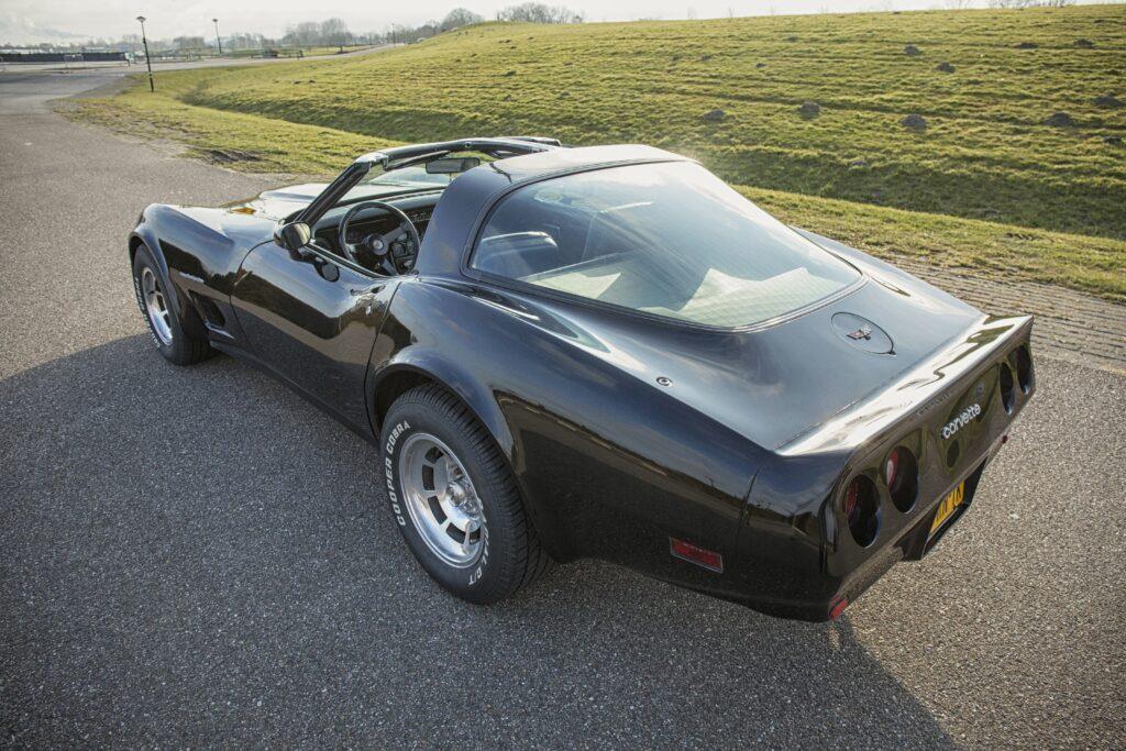 Frits Rijdt Met Zijn 'perfecte' Corvette C3 Voor KiKa En