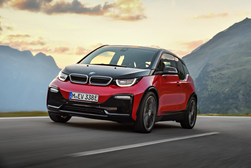 BMW i3S Elektro-offensief van BMW
