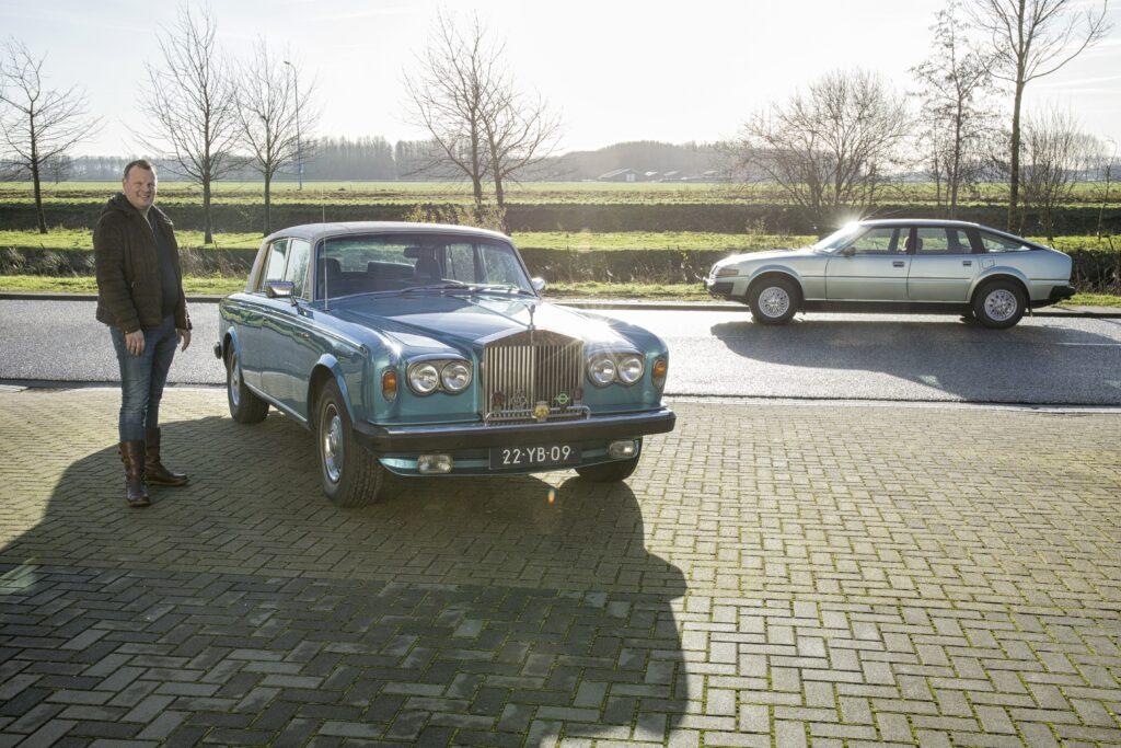 Rolls-Royce Silver Shadow II Rover 3500 SD1