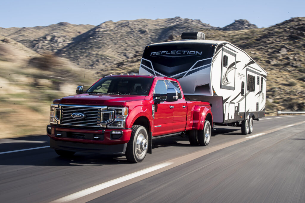 Campers Fifth Wheel Ford