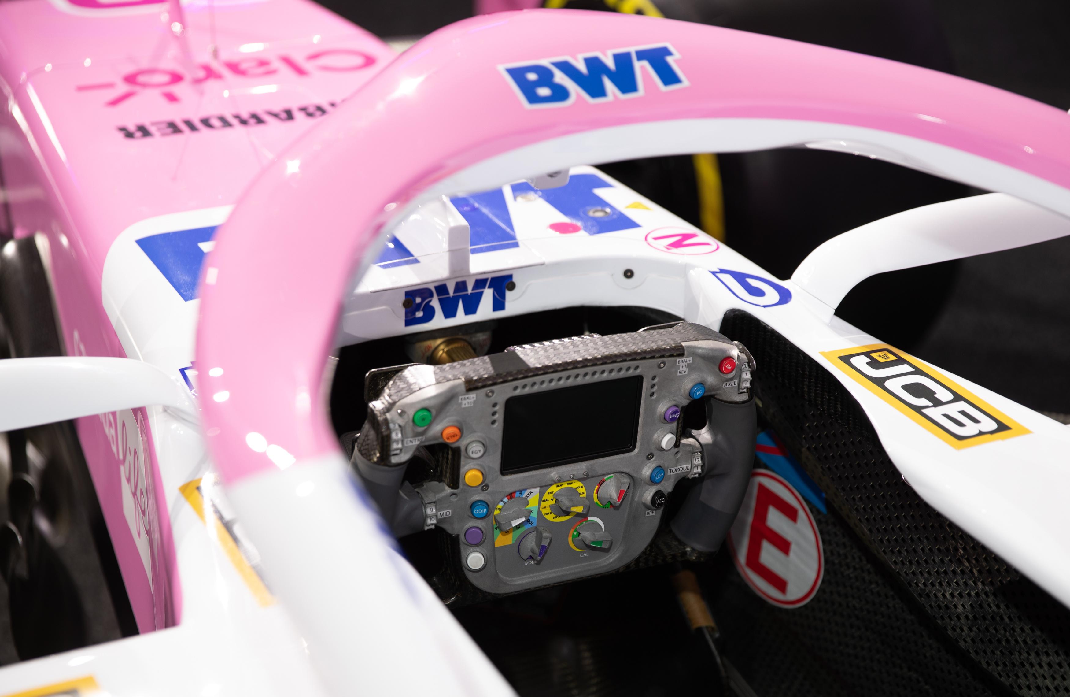 Racing Point Formule 1 2020 inside