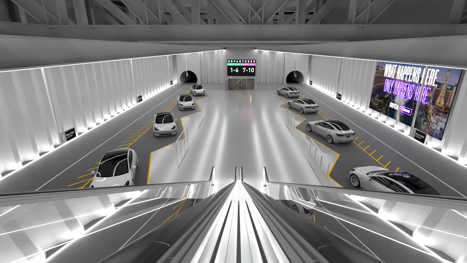 The Boring Company Tesla Tunnel 001