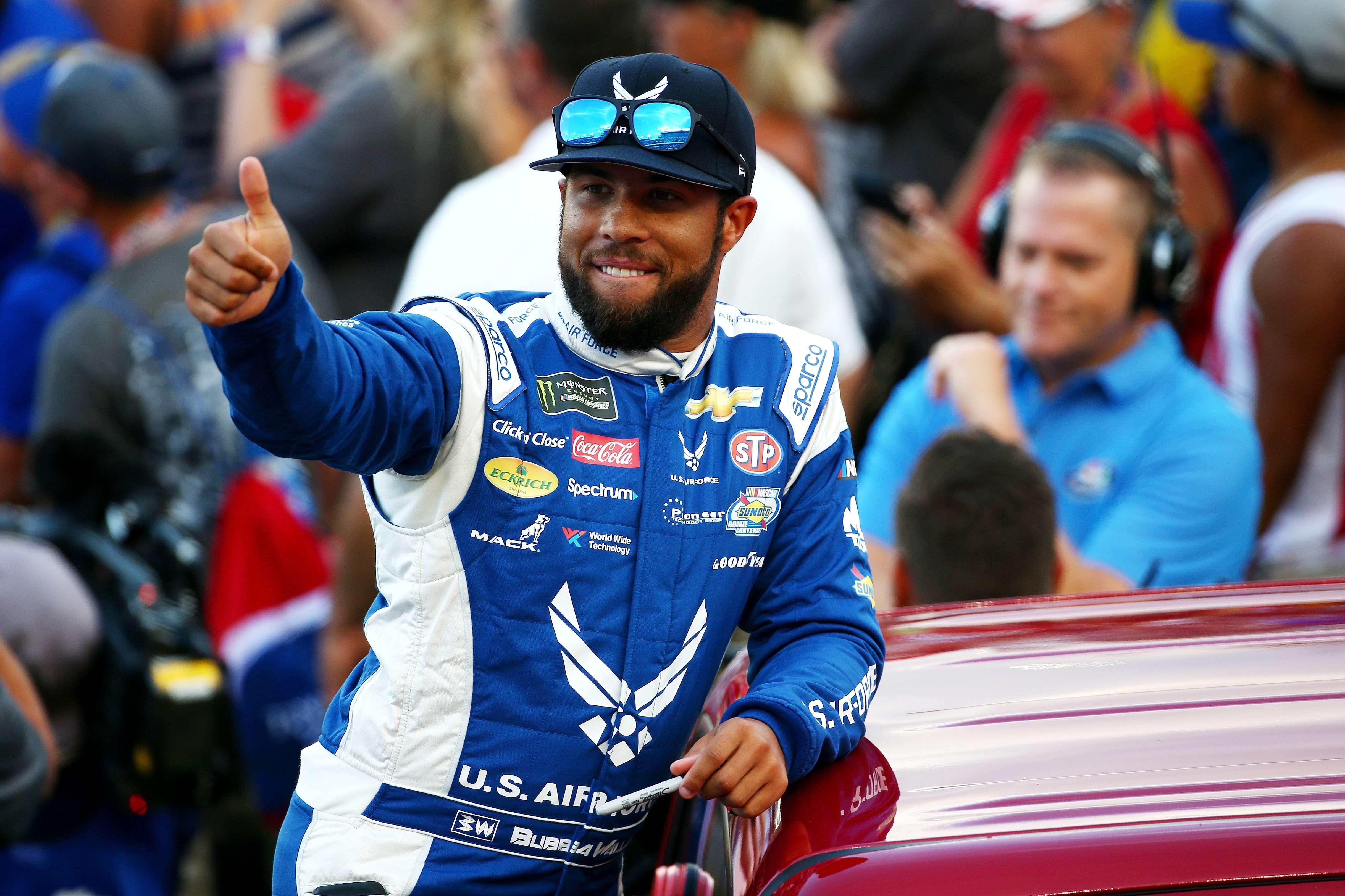 Bubba Wallace is de eerste coureur voor het team van Jordan