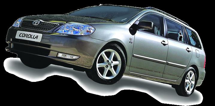 Toyota Corolla Wagon (2002 – 2007)