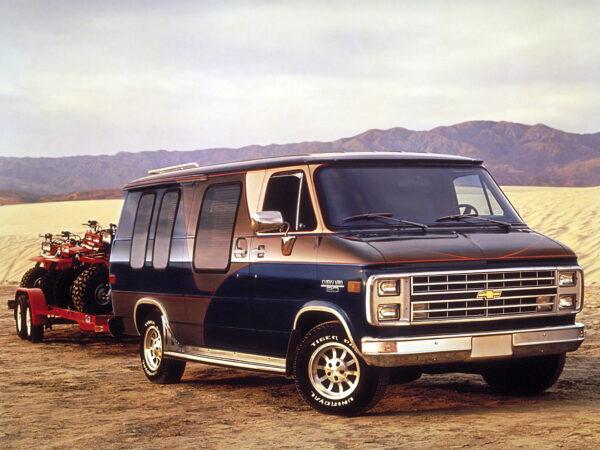 1987–90 Chevrolet G20 Chevy Van camperbusje