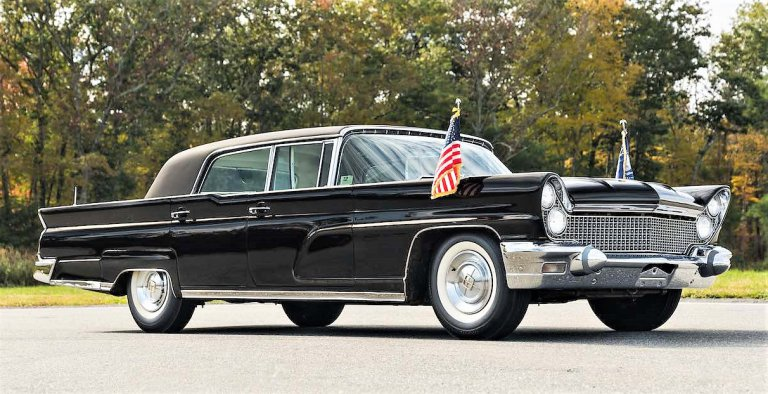 Lincoln Continental Mark V Executive Limousine