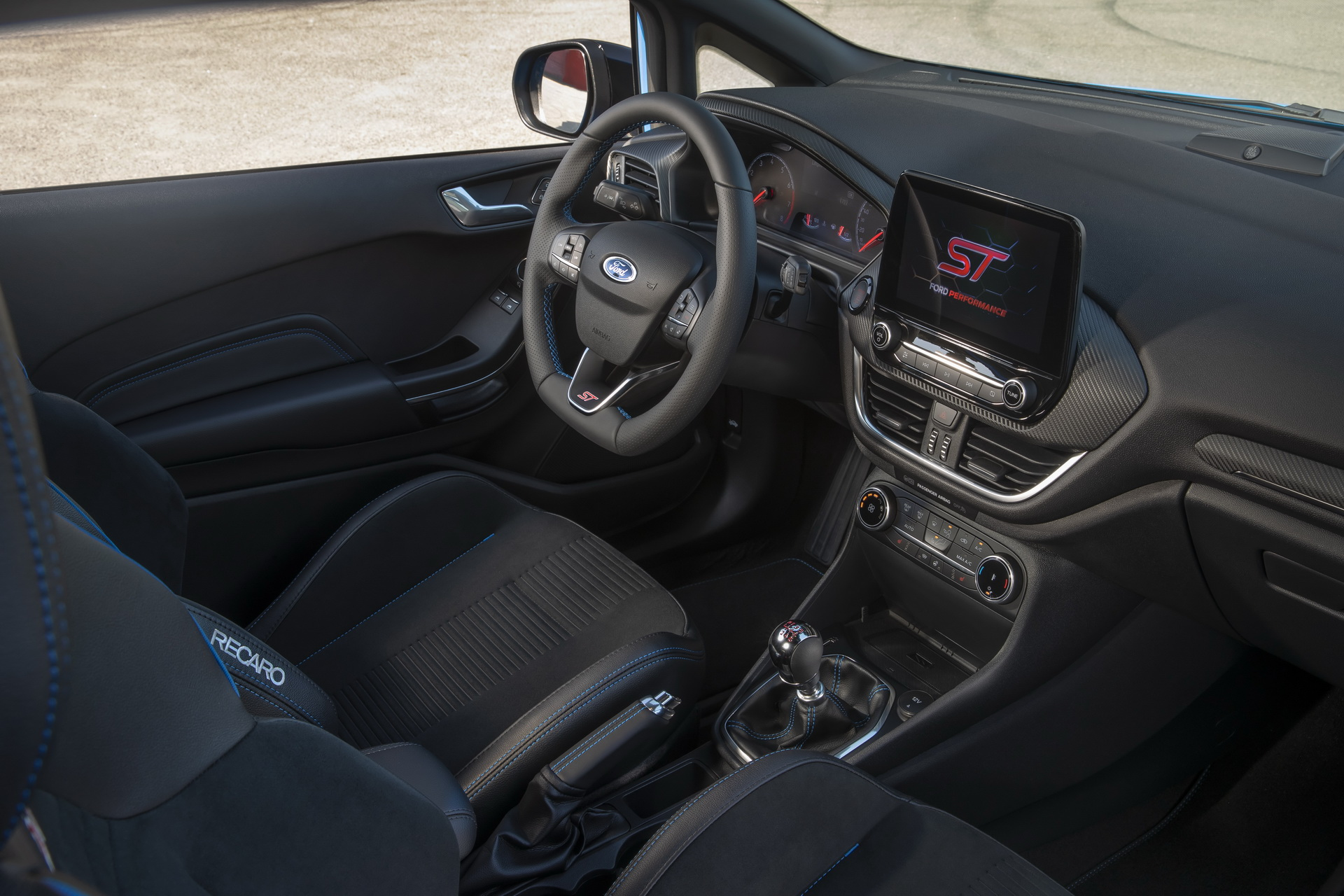 Ford Fiesta ST Edition interieur