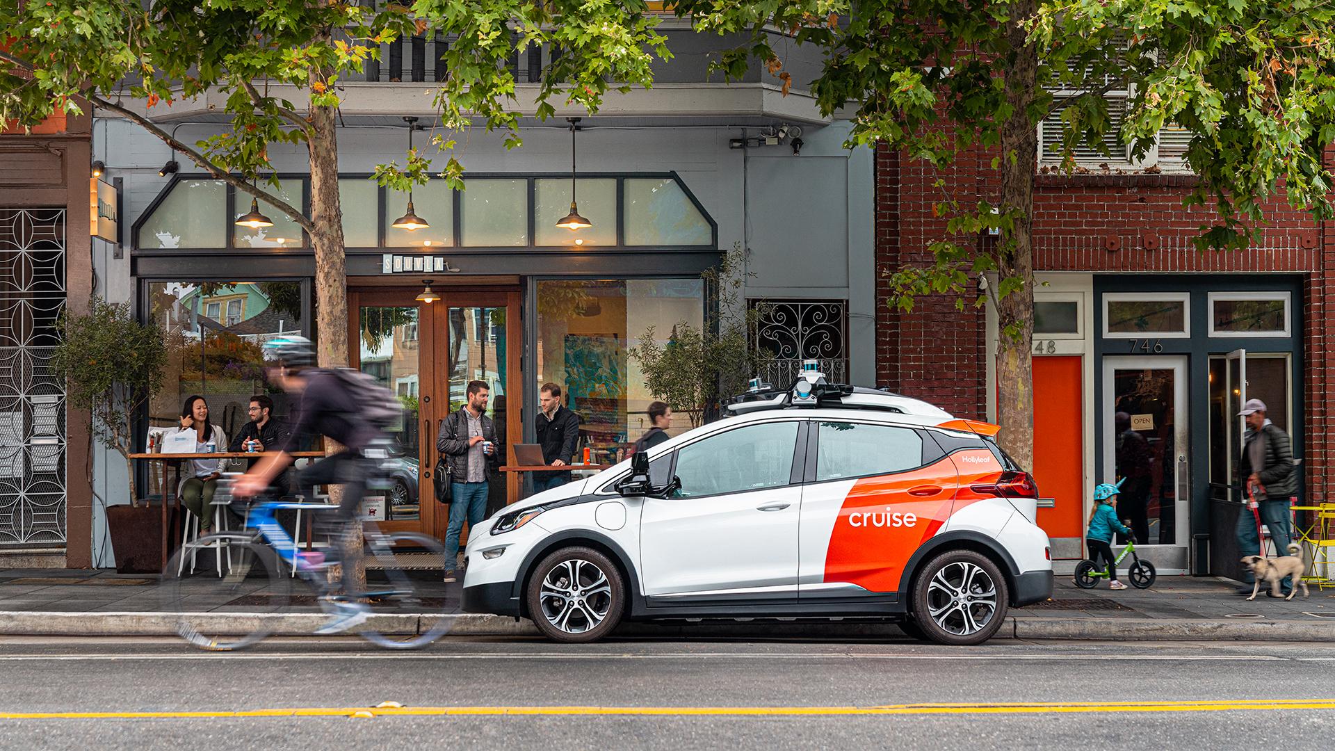 Cruise, de autonome auto in San Francisco
