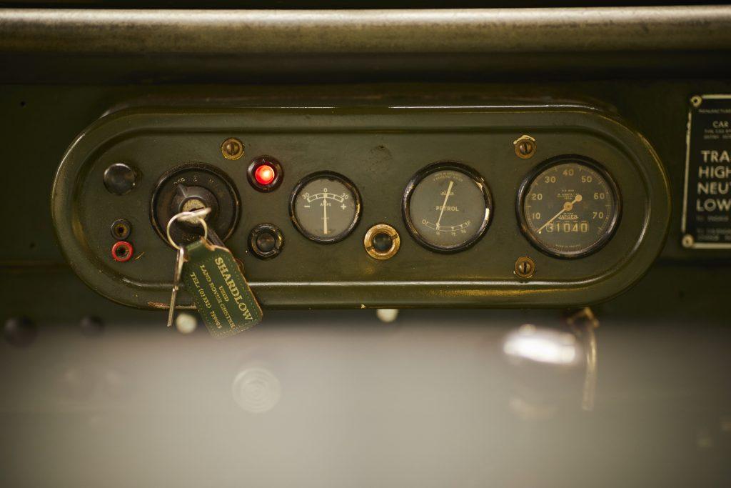 Series I dashboard