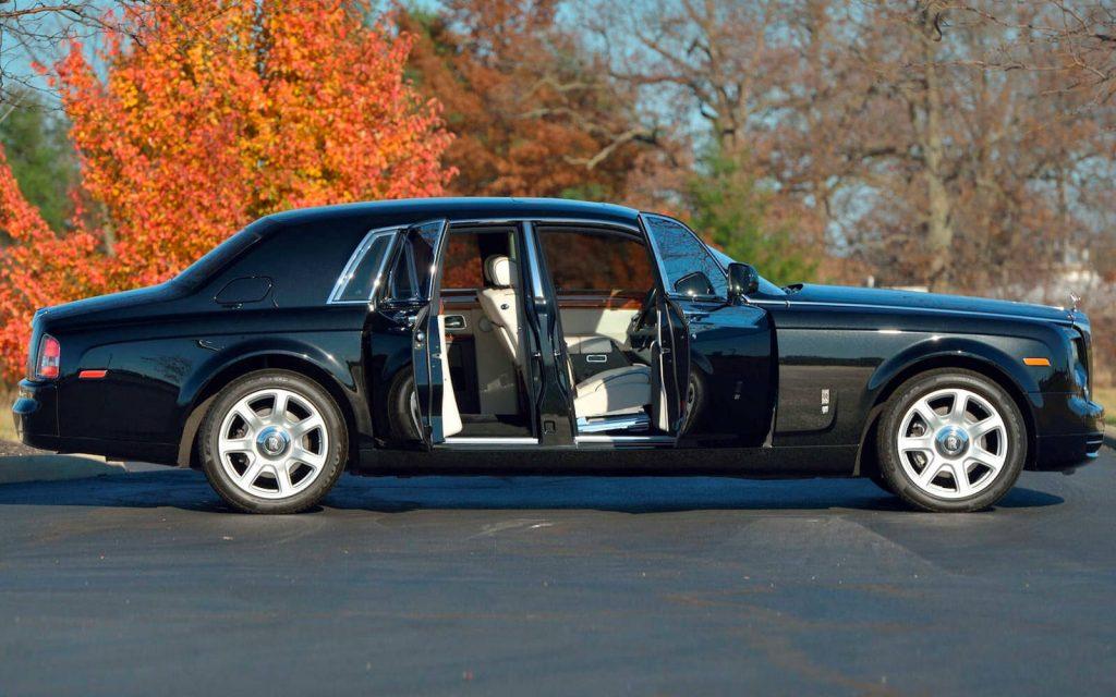 Rolls-Royce Phantom, auto Donald Trump