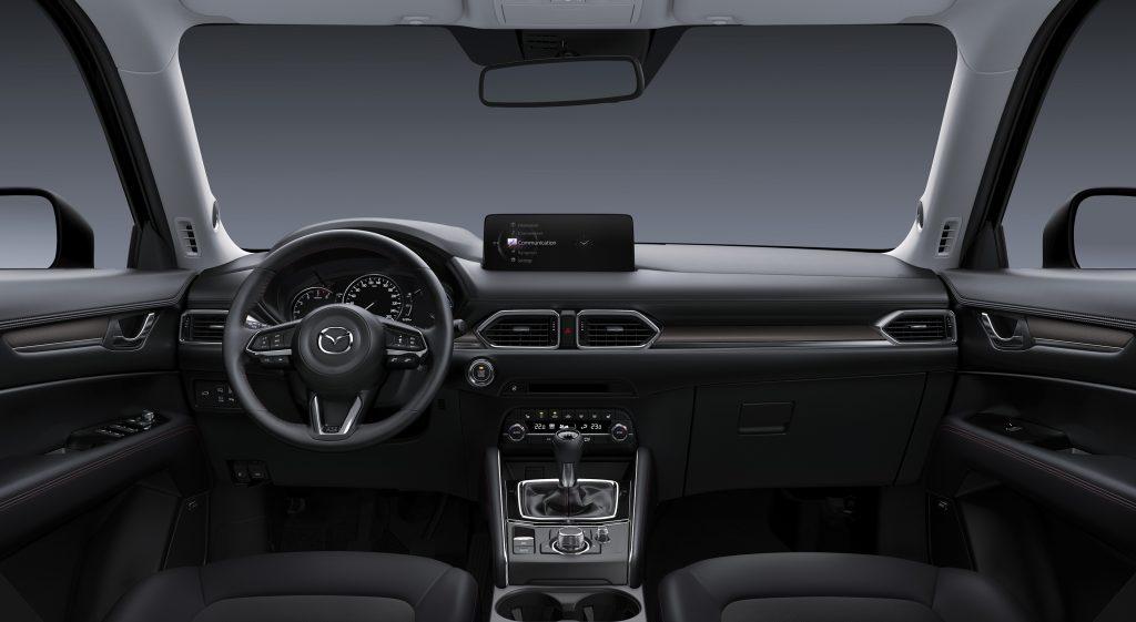 Interieur van de Mazda CX-5 Sportive