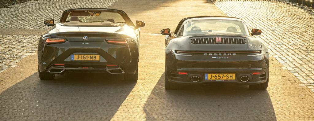 rear 911 vs lc