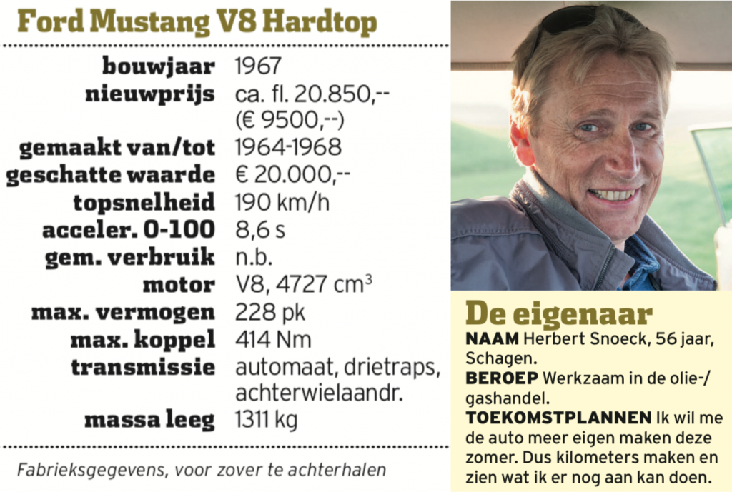 Ford Mustang V8 Hardtop