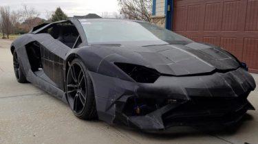 Lamborghini Aventador 3D-printer