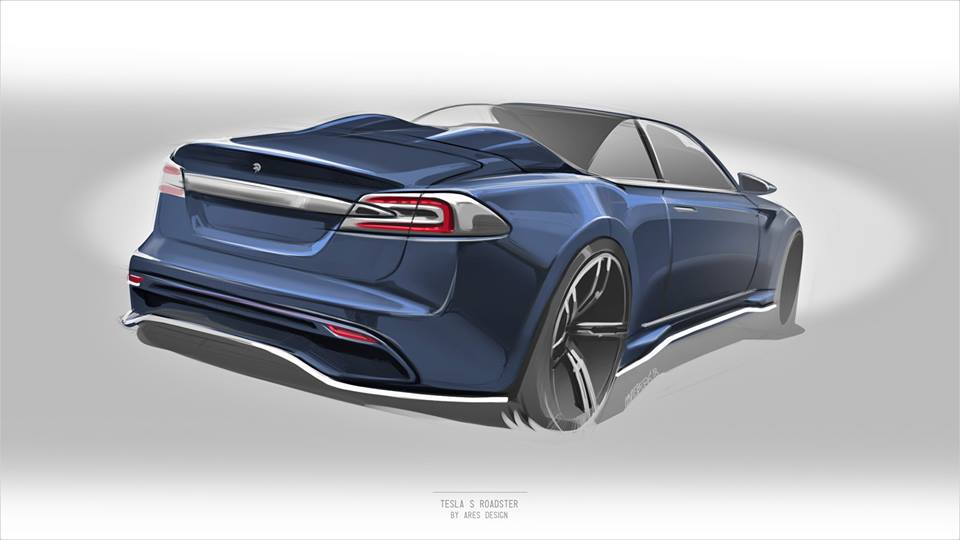 Tesla Model S Roadster