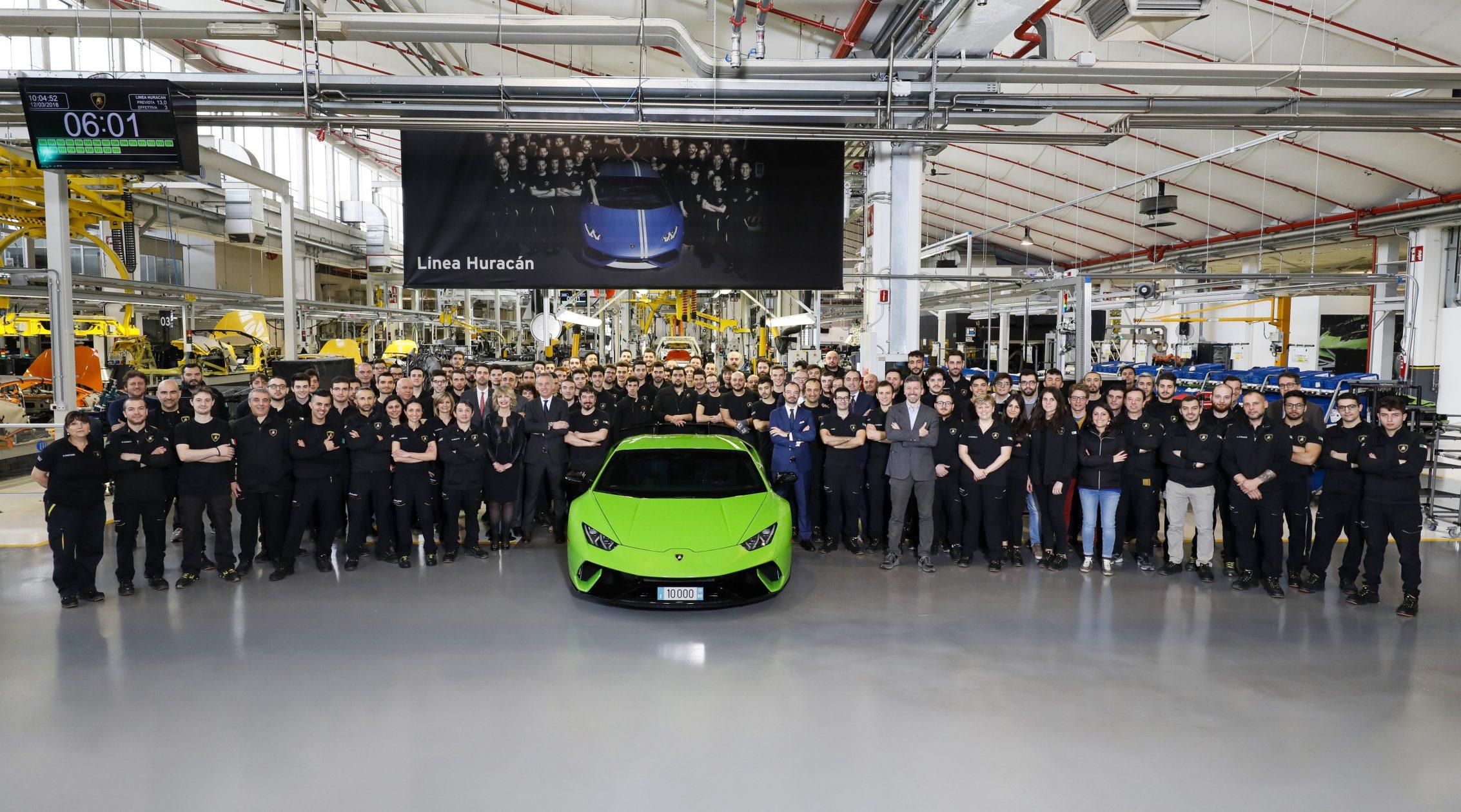 10.000 Lamborghini Huracan