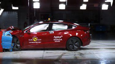 Tesla Model 3 - Euro Ncap
