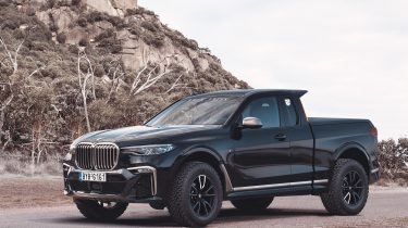 BMW X7 Pick-up Rain Prisk
