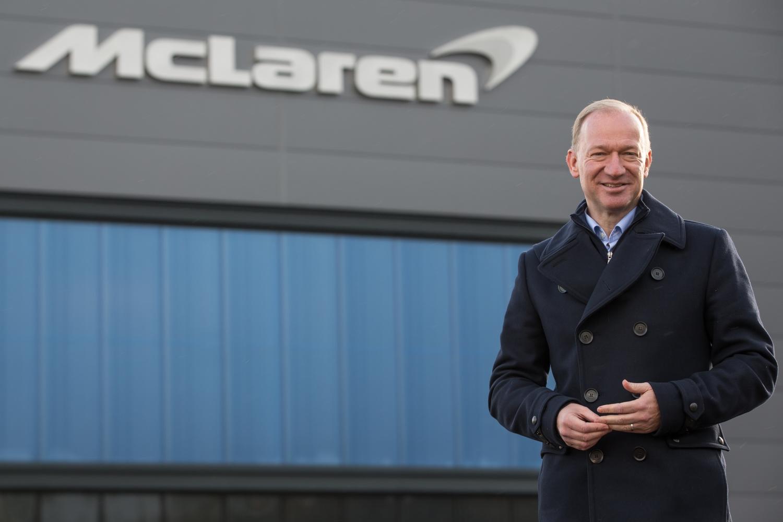 Mike Flewitt, ceo McLaren