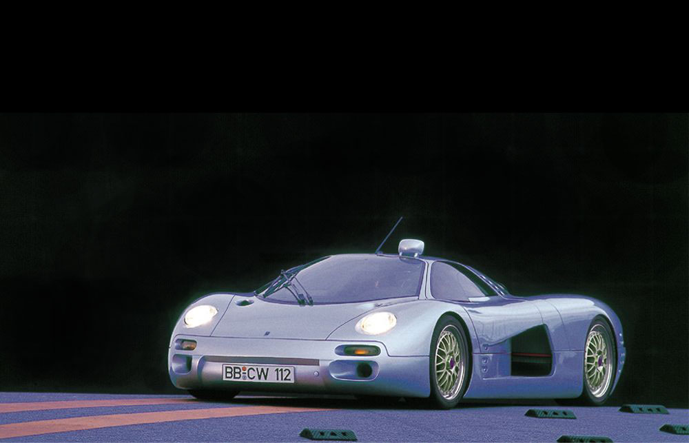 Isdera Commendatore 112i (1993). Fotocredit: Isdera