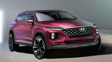 Hyundai Santa Fe_Rendering Image 1