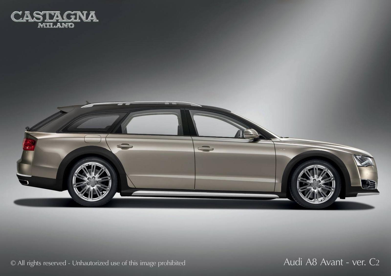 Castagna Milano - Audi A8 Avant