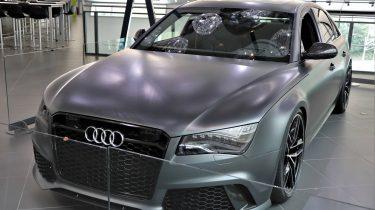 Audi RS8 Prototype