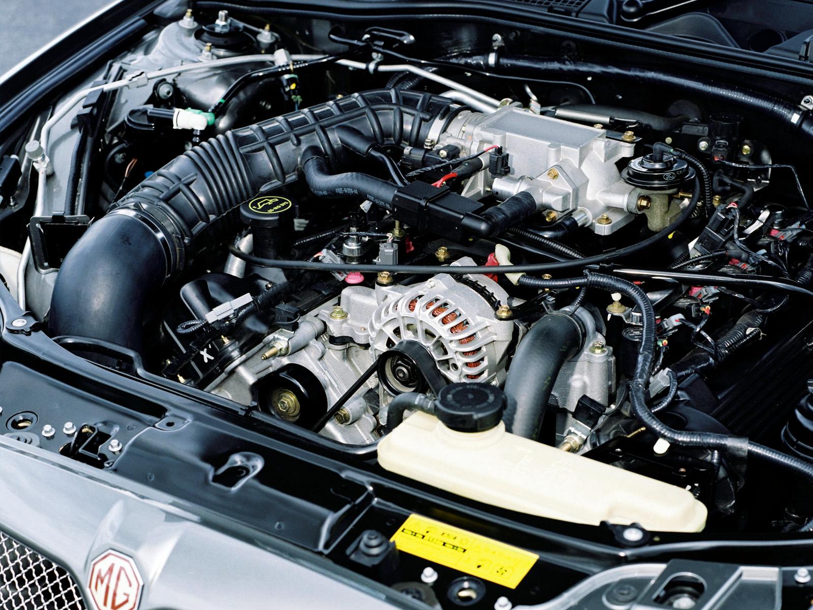 MG ZT motor