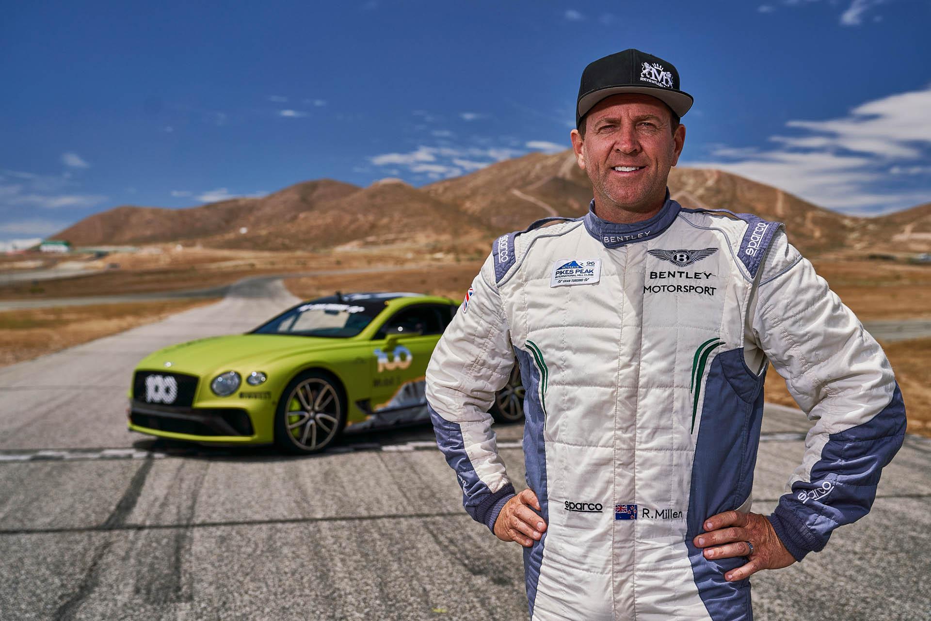 Bentley Continental GT Pikes Peak 2019