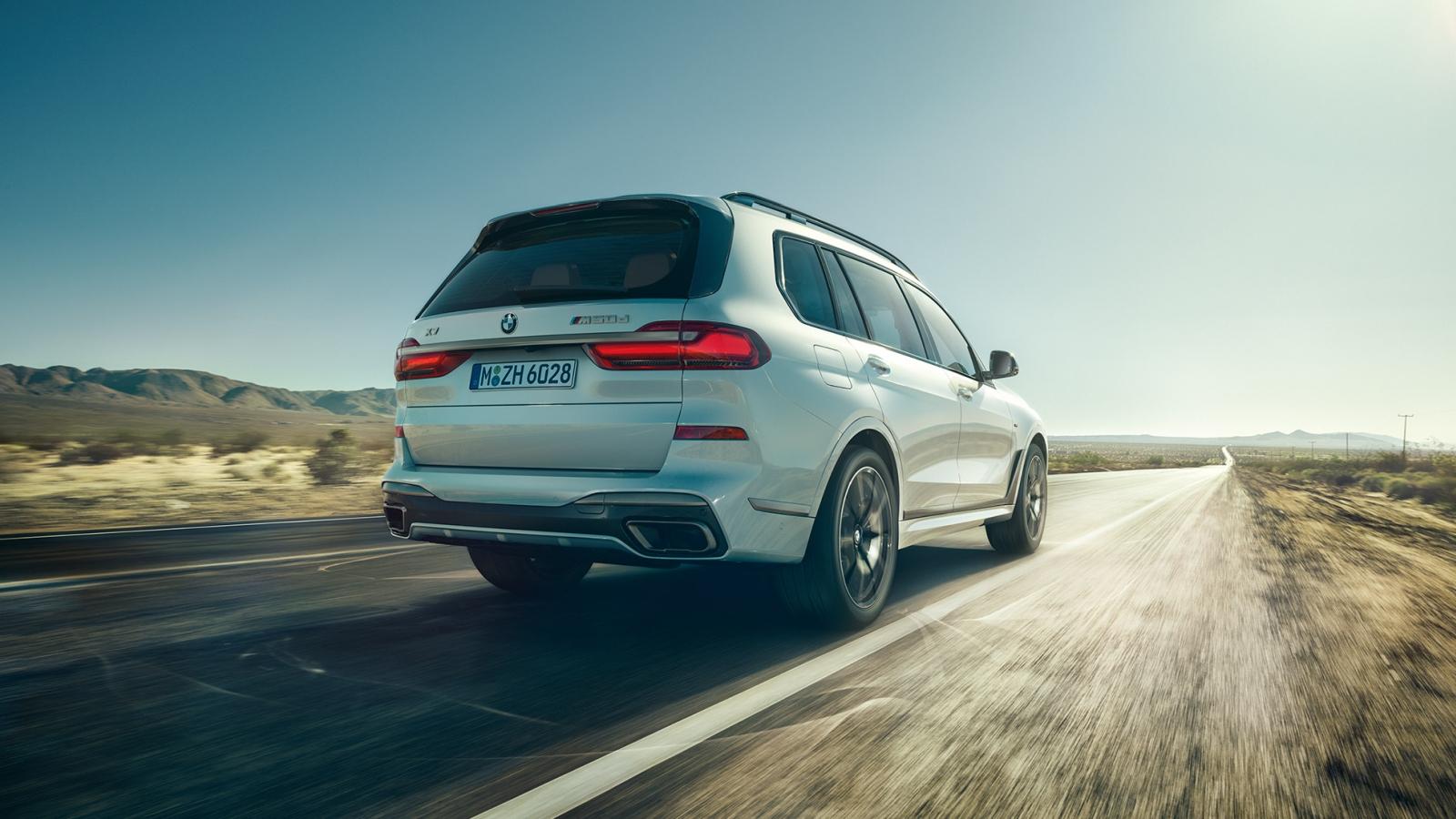 BMW X7 header wit