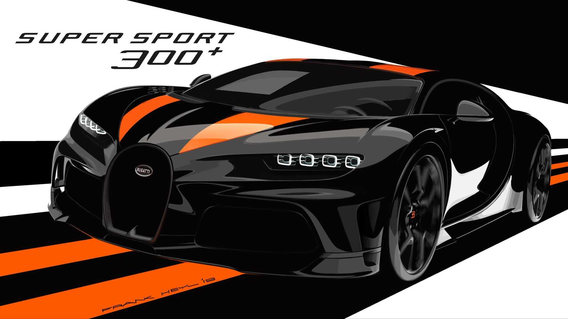 Bugatti Super Sport 300+