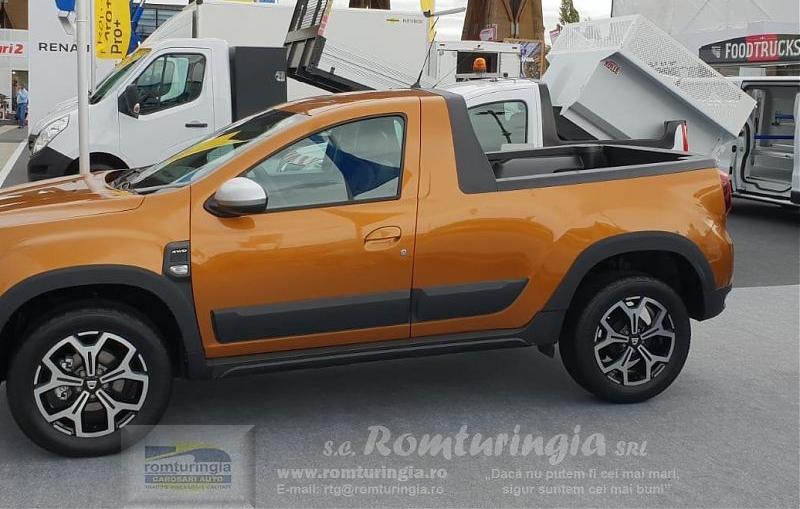 Dacia Duster pick-up 4x4 - Romturingia