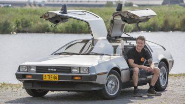 DeLorean DMC12 2