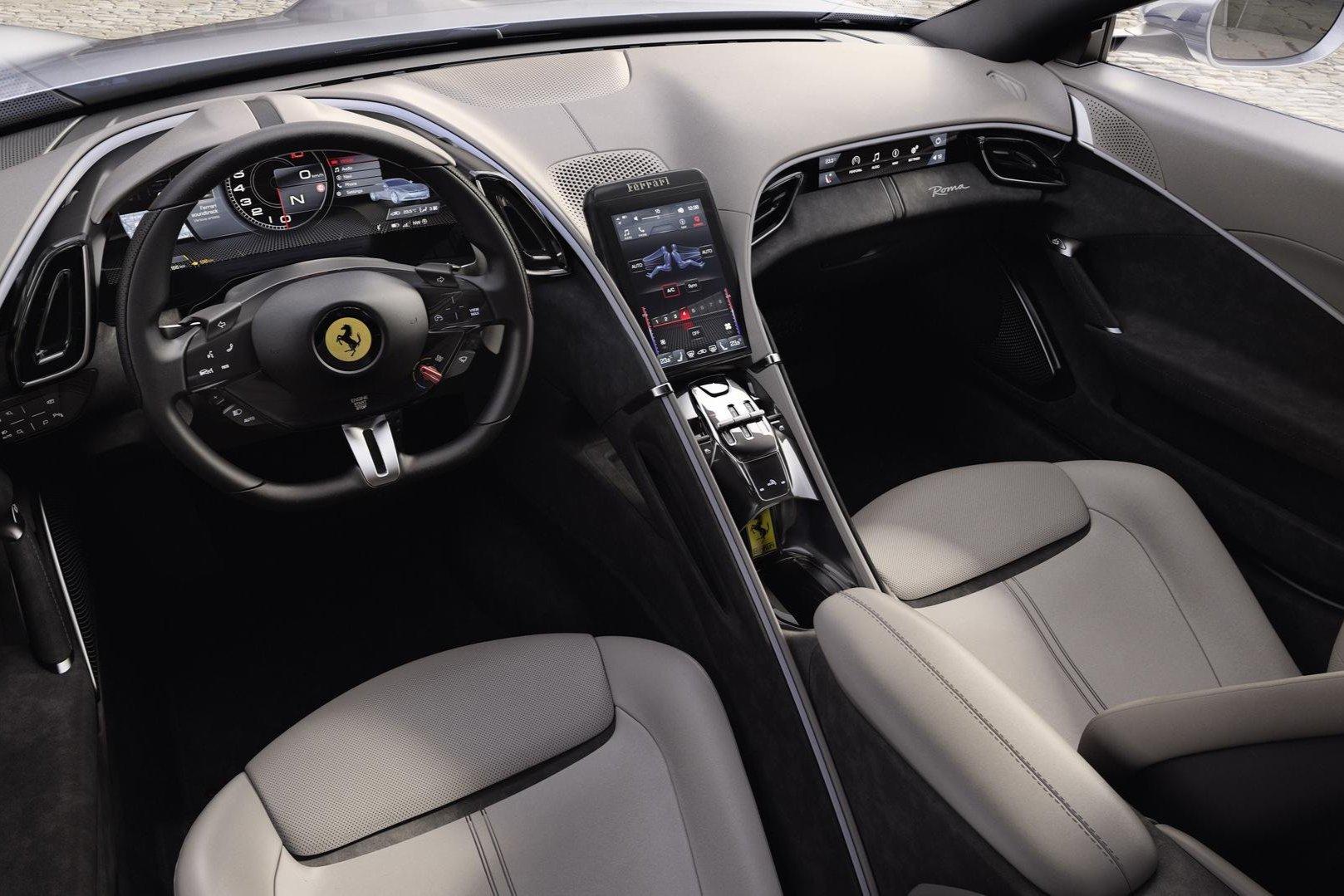 Ferrari Roma Interieur