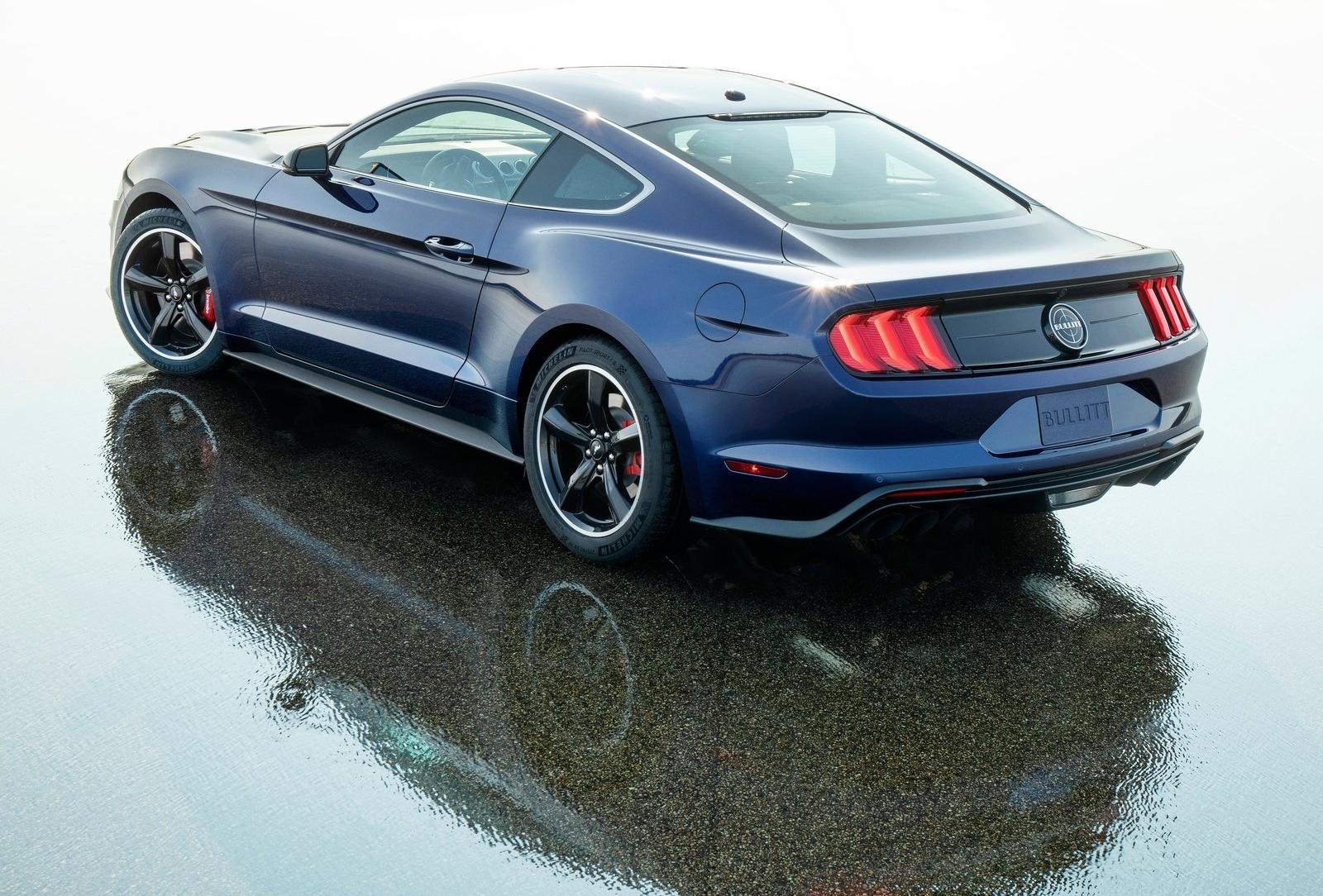 Ford Mustang Bullitt - Kona Blue