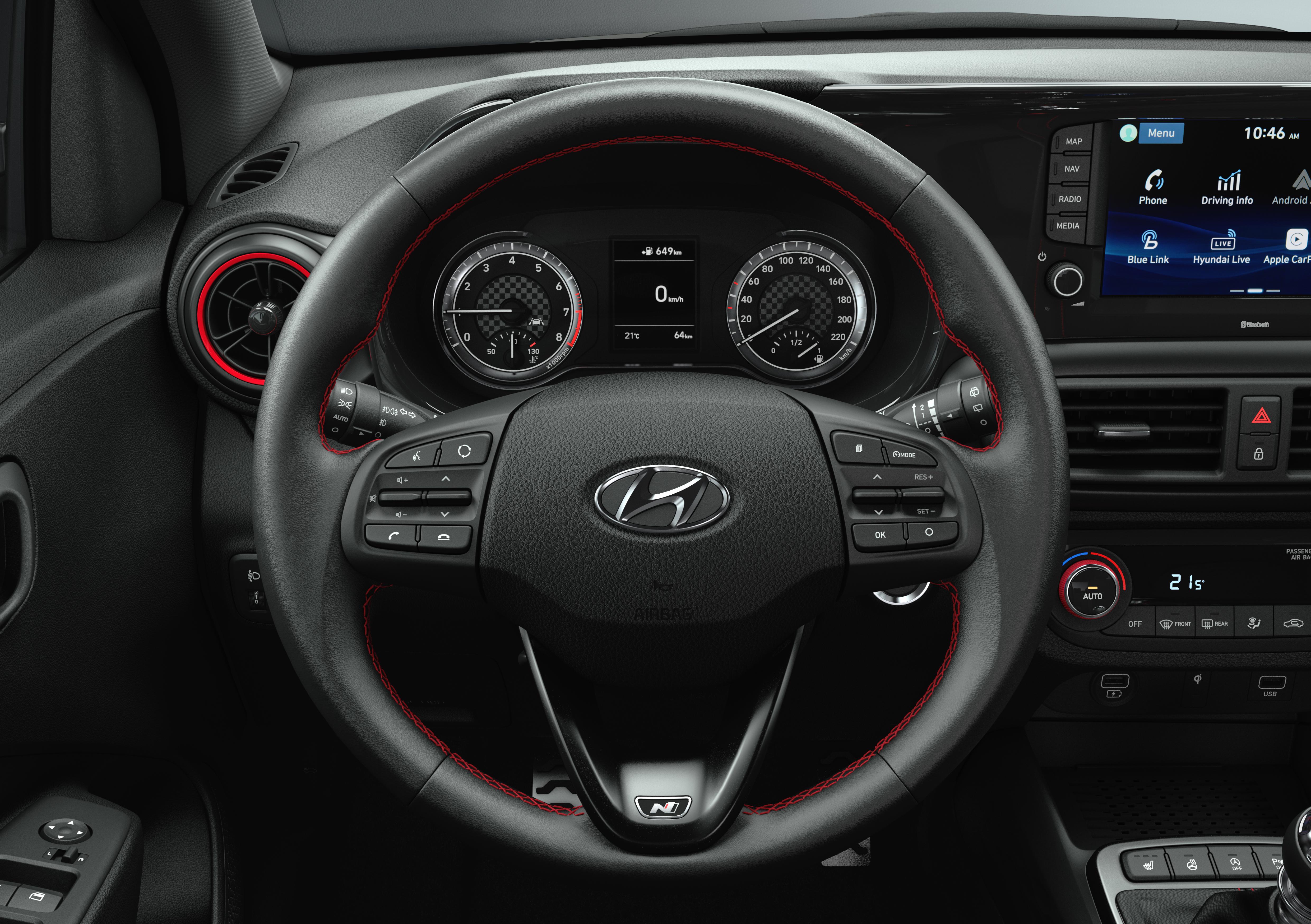 Hyundai i10 N Line Interieur