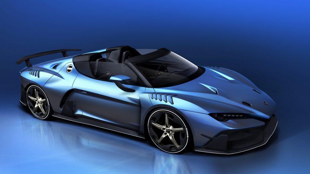Italdesign Giugiaro Zerouno Roadster