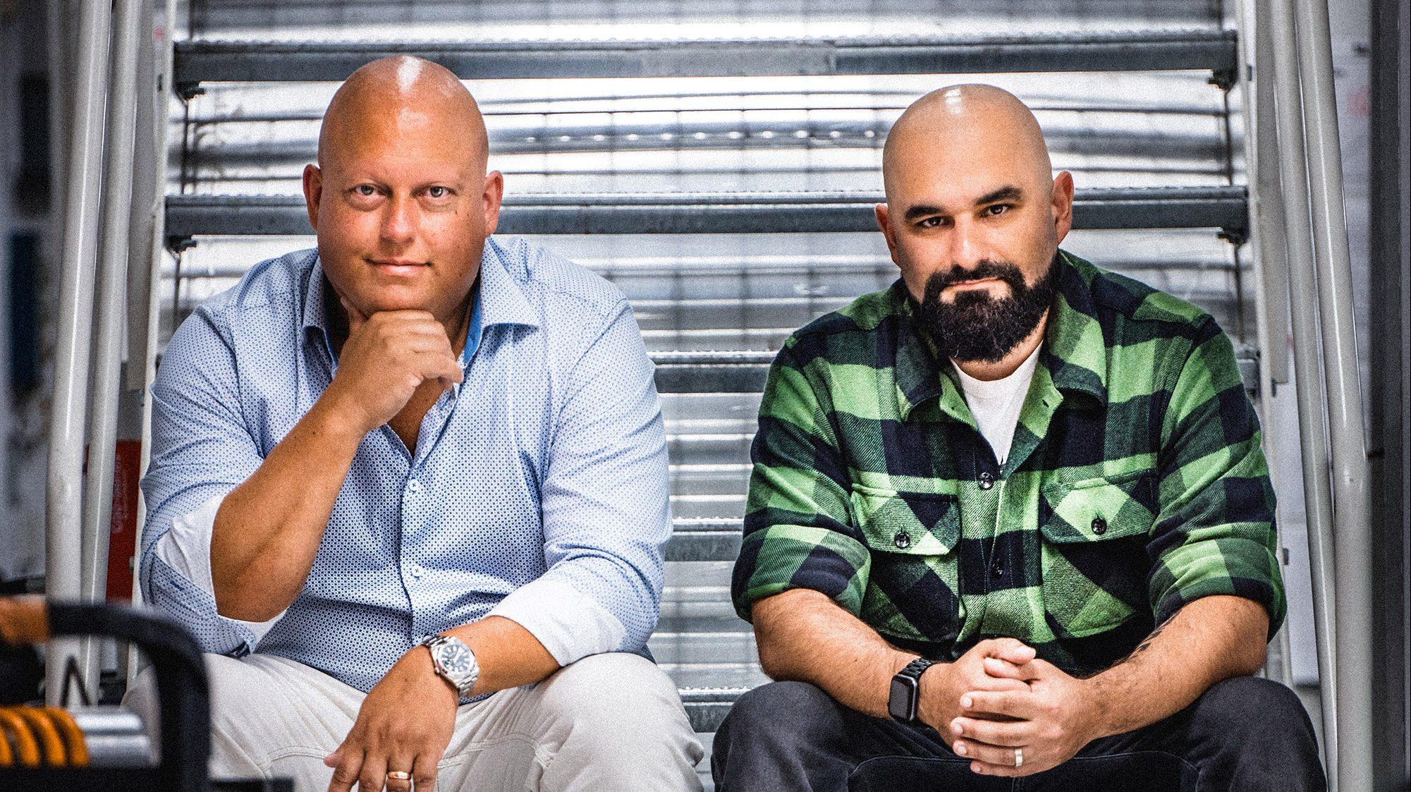 Christian von Koenigsegg en Sasha Selipanov