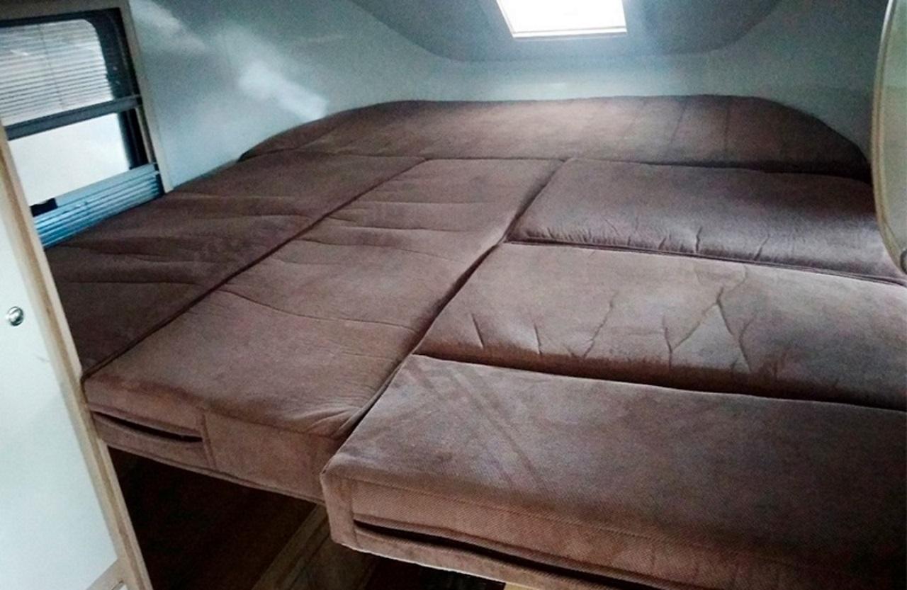 Lada FL-Camper bed