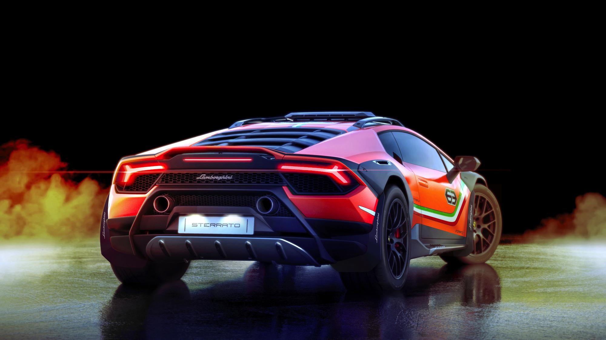Lamborghini Huracan Sterrato