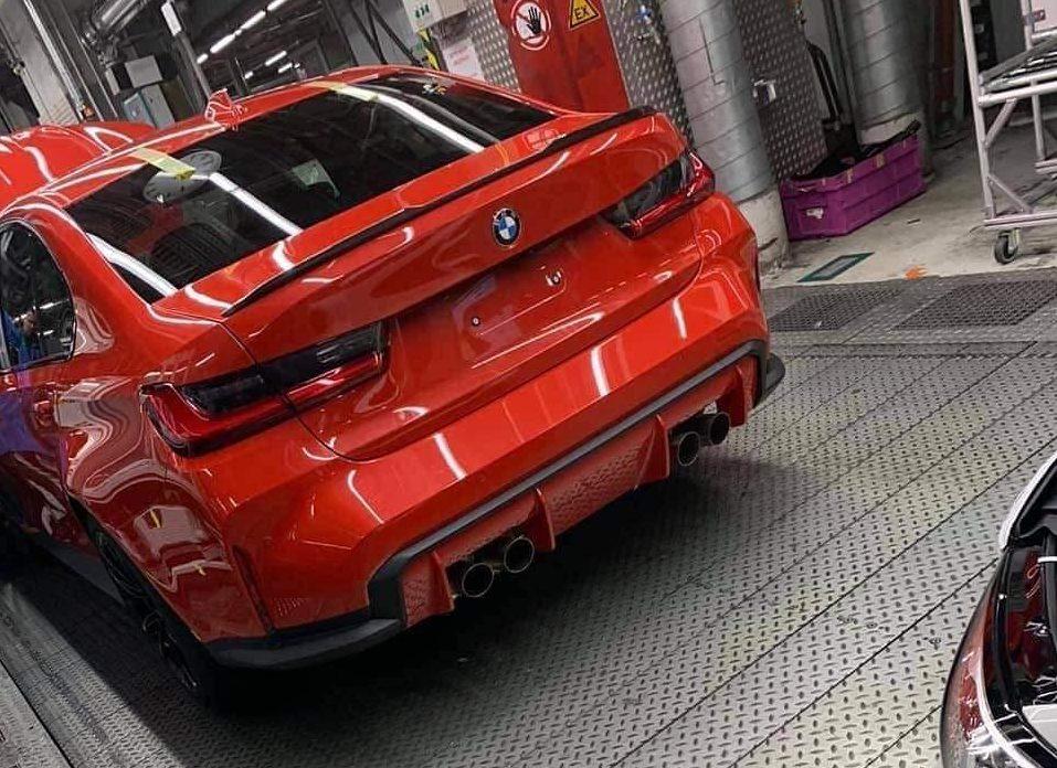 Gelekte BMW M3 G80