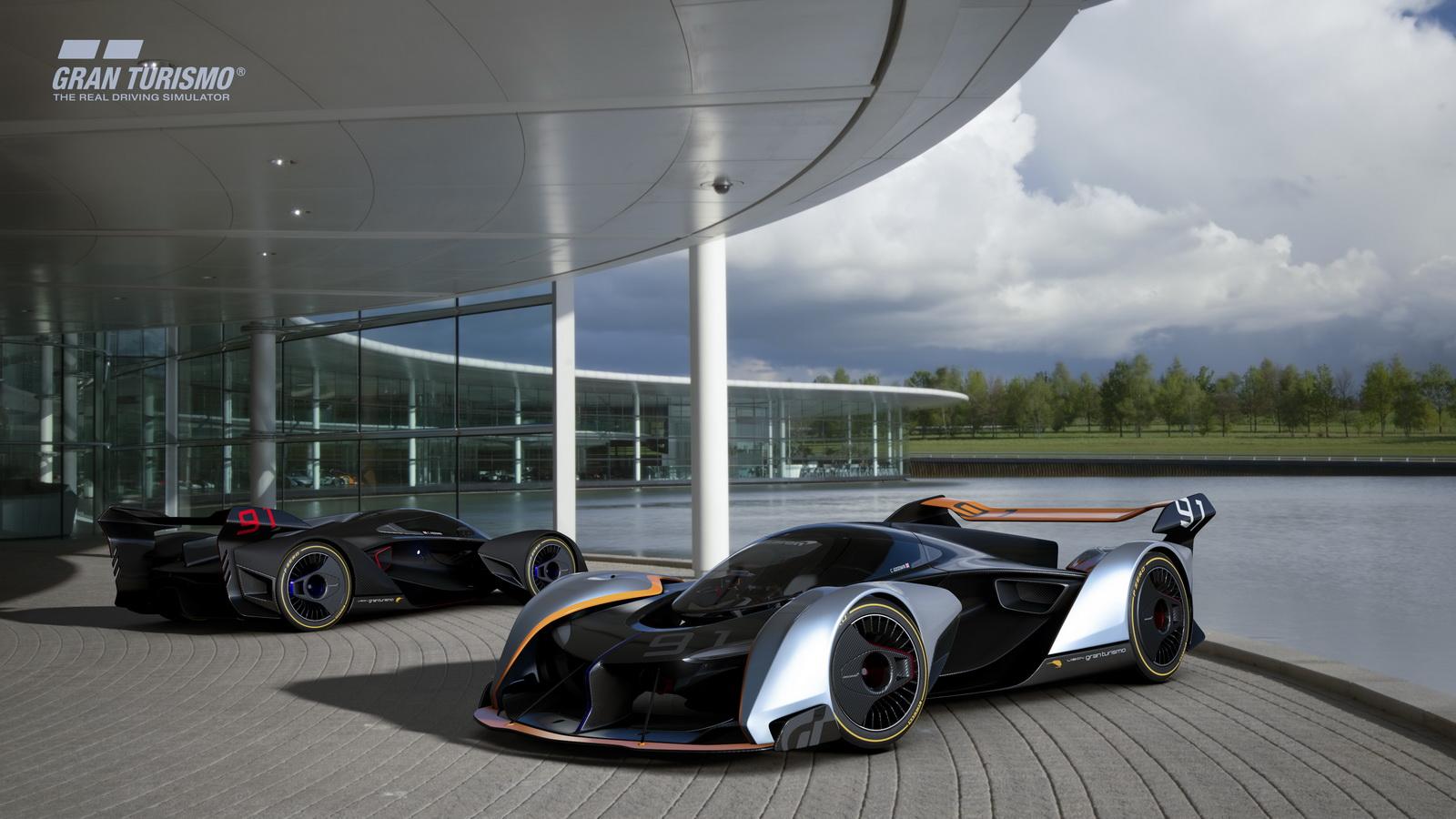 McLaren Gran Turismo Vision Concept