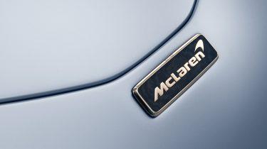 mclaren speedtail gold carbon badge 2
