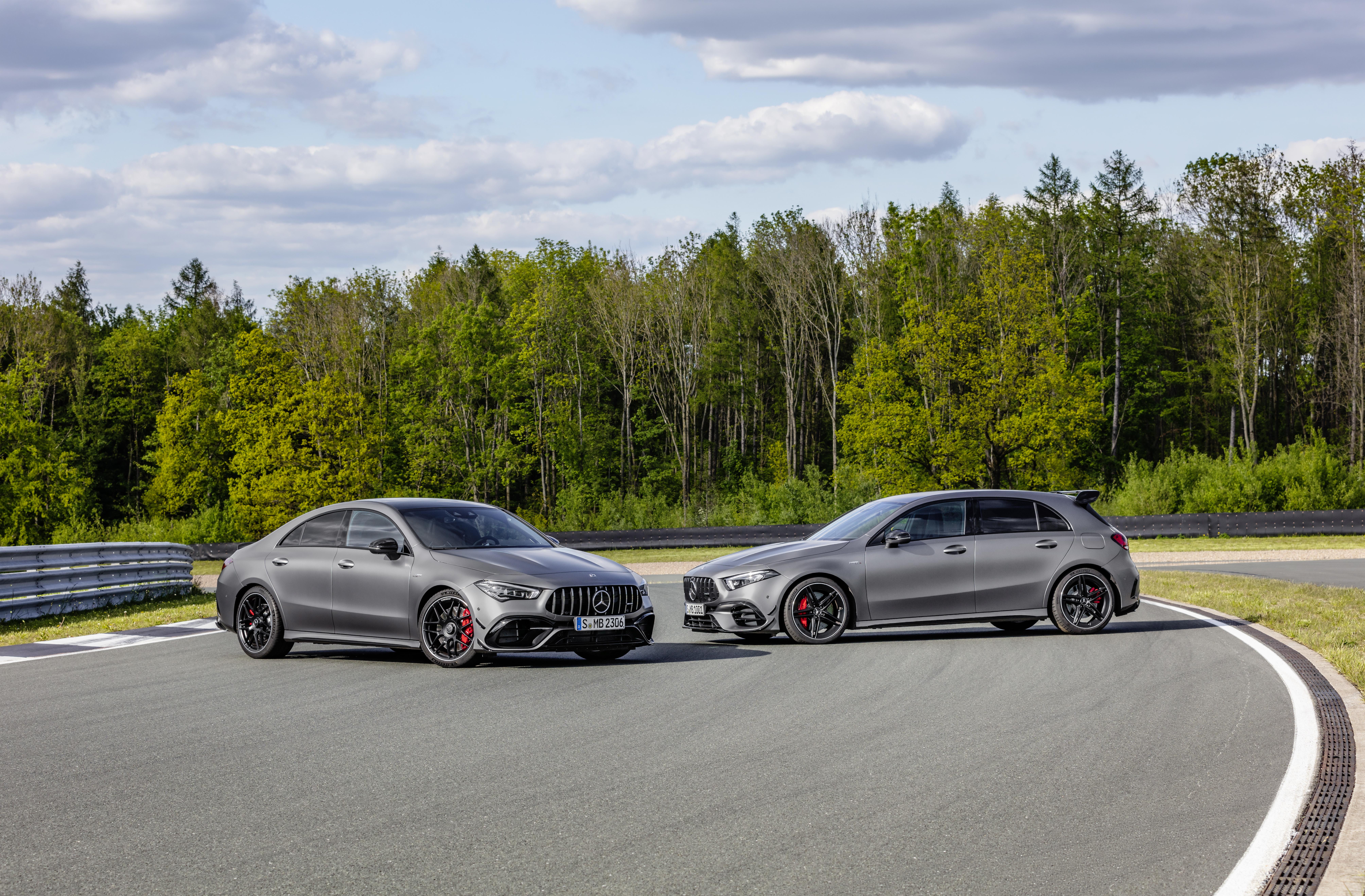 Mercedes-AMG CLA 45 en A 45