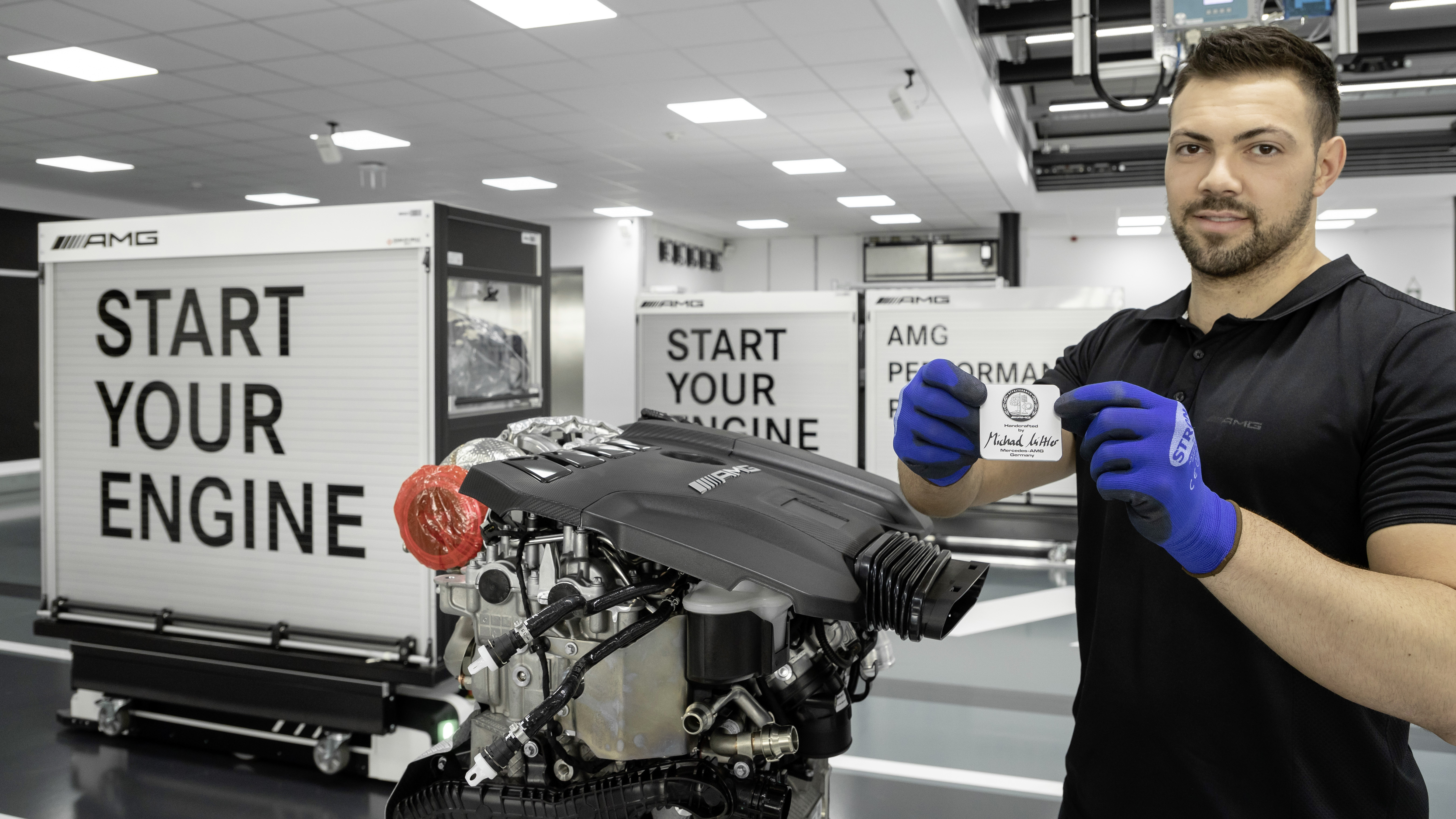 Mercedes-AMG M 139 'one man, one engine'