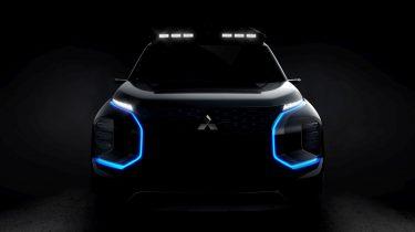 Mitsubishi Engelberg Tourer teaser 2019